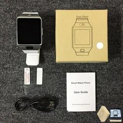 Black,Silver & Gold Watch Phone, Model Name/Number: DZ01, Memory Size: Expandable Upto 128gb