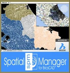 Bricscad Spatial Manager - Standard Edition - Powerful Cad And Gis Software