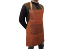 Goat leather apron