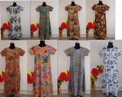 COTTON PRINTED GOWN