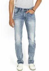 Poly And Cotton Spandex Men Denim Jeans, Age Group: 15 To 100
