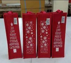 Christmas Bottle Bags