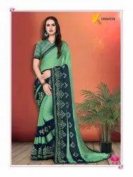 Fancy Work Saree