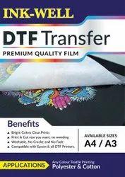 DTF Transfer Sheet