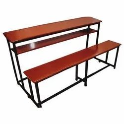 School Bench Without Backrest