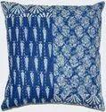 Indigo Kantha Shibori Cushion Cover