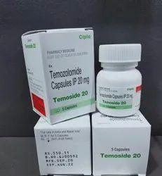 Temoside 100 Capsule Temozolomide Capsules