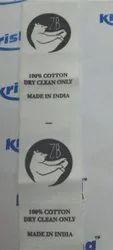 Fabric Logo Tags