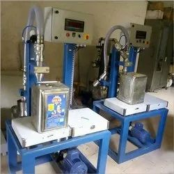 15 Kg Oil Tin Container Weighmetric Filling Machine