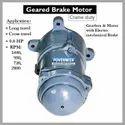 Crane Geared Brake Motor