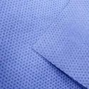 Breathable Antibacterial Blue Color SMS Non Woven Fabric For Face Mask / Hospital Products