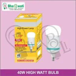 40W High Watt Bulb (Driver Based With Rocket Body)