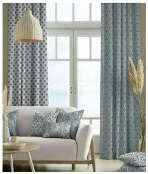 Polyester Many Design Breeza Regular Curtain, For Home