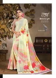 Geometrical Printed Saree