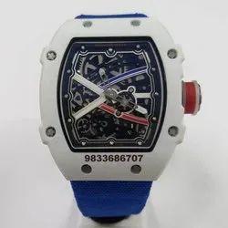 Richard Mille 67-02 White Swiss ETA Automatic Watch