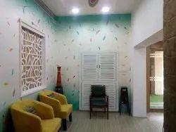 Wood Interior Cupboard Design Service