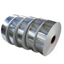 Silver Laminated Paper Roll, 80 - 120