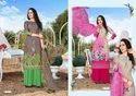 Libaas Cotton Printed Dress Material Catalog