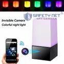 SAFETYNET Hidden Spy Cover LED Color Computer Lamp 1080P WiFi Home Security Camera