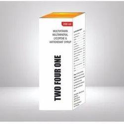 Multivitamin Multimineral Lycopene & Antioxidant Syrup