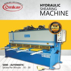 Omkar Make Hydraulic Shearing Machine (OHSM-315)