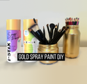 Heat Resistant Normal Color Chrome Effect Spray Paint