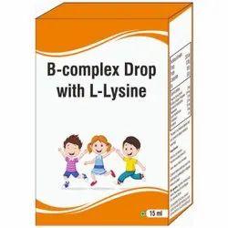 B-complex Drop With L-lysine Drop