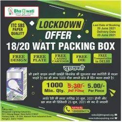 18W-20W LED Bulb Packaging Box