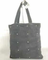 Grey 100% Leather MBE/IR/01 Ladies Bag