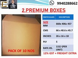 House Shifting Corrugated Premium Boxes