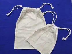 Reusable Food Bag - Organic Cotton and rPET Polyester