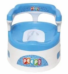 Blue Baby Potty Seat With Back Support
