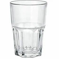 Clear Transparent Drinking Water Glass, Capacity: 200ml