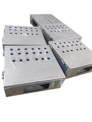 Square Mild Steel Control Panel Box, For Junction Boxes