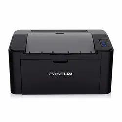 Black & White Pantum P2500 Monochrome Laser Printer, A4 Size, 22PPM