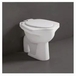 Closed Front White Anglo Floor Mount Water Closets, For Home, Size/Dimension: 558 X 465 X 410 Mm (l X W X H)