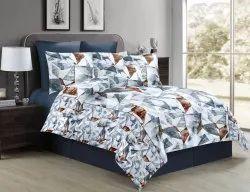 Bedsheet - Fleur Chic & Modern Grey