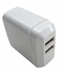 5V 3.4A Dual USB Charger for Mobile Phones