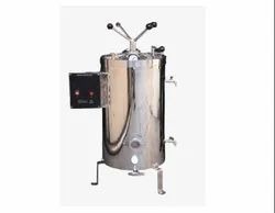 VERTICAL DOUBLE WALLED RADIAL LOCKING AUTOCLAVE