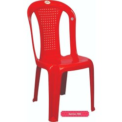 Plastic Armless Dining Chair