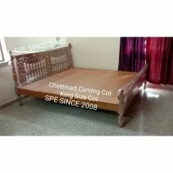 Chettinad Wooden Bed