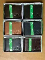 Bi Fold Woodland Leather Wallet, Card Slots: 6