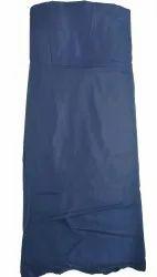 Micro + PV RC Raymond Gray Cotton Fabric, Plain/Solids, Blue