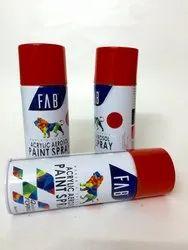 Scarlet Aerosal Spray paint - FAB Brand