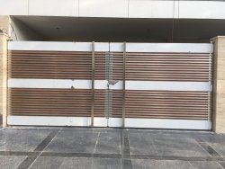 Hinged Steel Gate