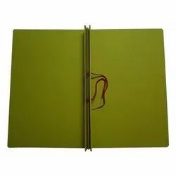 Cardboard Green Tag File, Paper Size: A4, Packaging Type: Poly Bag