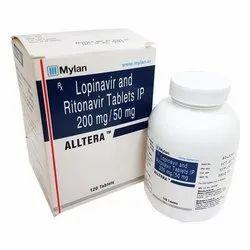 Alltera (Lopinavir 200 Mg + Ritonavir 50 Mg)