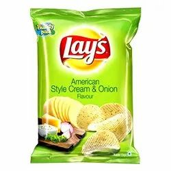 Lays American Style Cream And Onion Chips