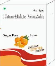 L-Glutamine & Prebiotics+Prebiotics Sachets