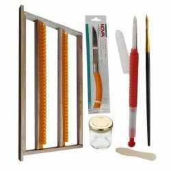 Royal Jelly Frame with Grafting Needle & Other Accessories